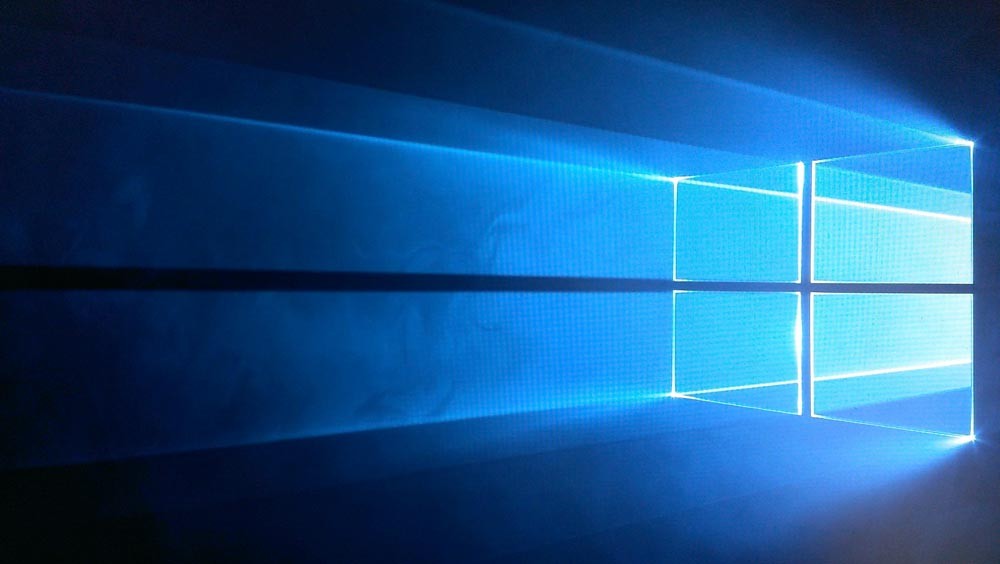 windows10デスクトップ画面