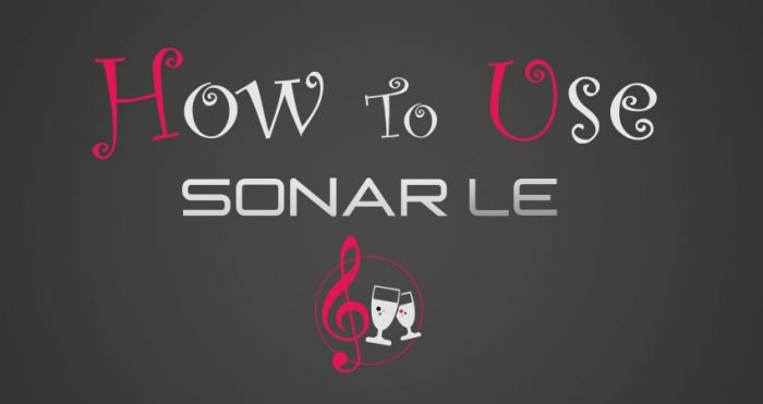 How to use SONAR LE