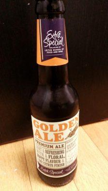 ゴールデンエールの瓶