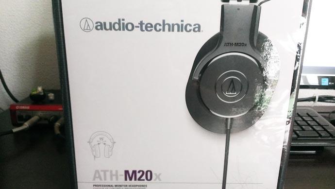 オーディオテクニカ ATH-M20X