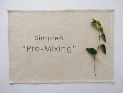simple8 Pre-Mixing
