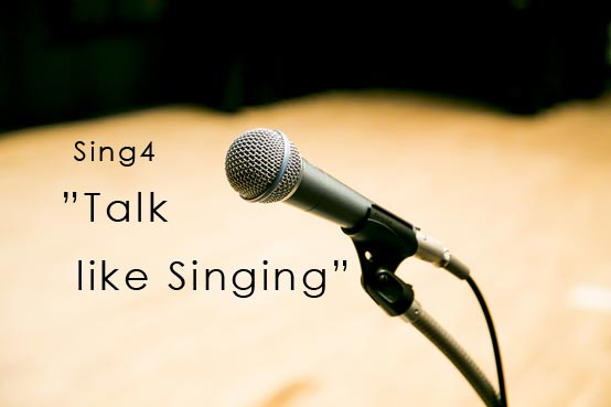 Talk like Singing