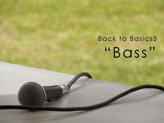 Back to basics5 Bass