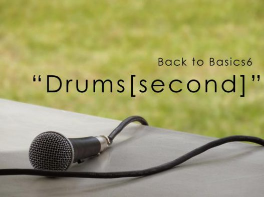 Back to basics6 Drums second