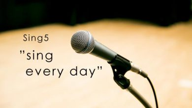 Sing5 Sing every day