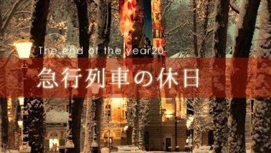 the end of the year 急行列車の休日