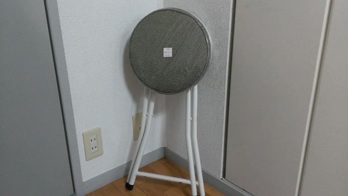 自作防音室用の椅子