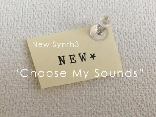 new synth2 Choose My Sounds