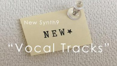 new synth8 Vocal Tracks