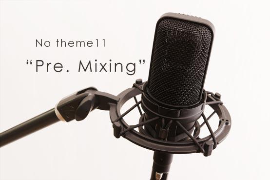 No theme10 Pre Mixing