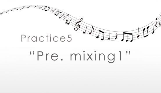 practice5 Pre. mixing1