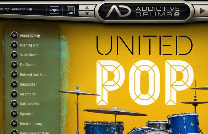 Addivtive Drums2 UNITED POP