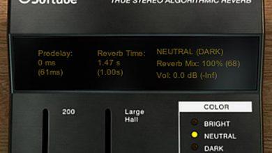 Softube TSAR-1R 画面