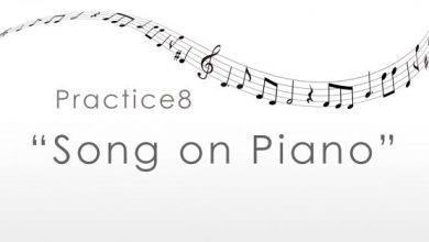practice8 Song on Piano