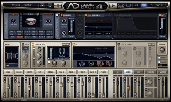 Addictive Drums2画面