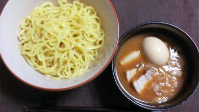日清「つけ麺の達人 濃厚魚介醤油」 完成