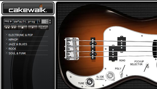 SI Bass Guitar プリセット「Default