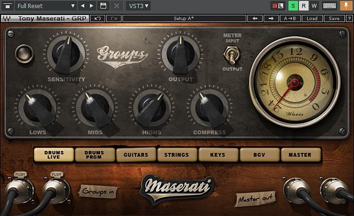 MASERATI GRP タイプ「Drum Live」の設定