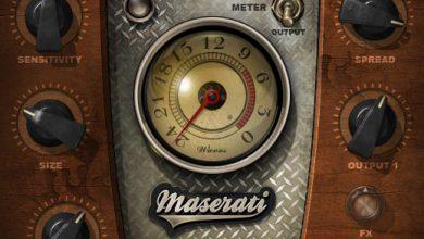 Maserati HMX コントロールパネル