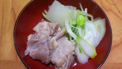 鶏塩鍋-完成2